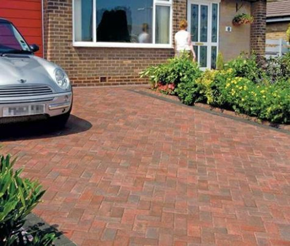 Marshalls Standard Concrete Block Paving (200 x 100 x 50mm) - Brindle