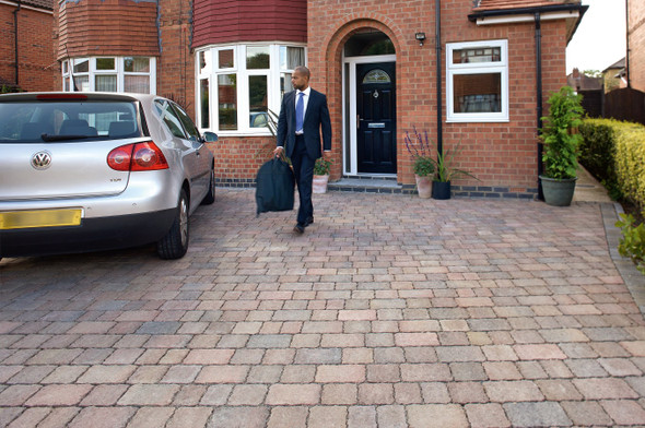 Marshalls Drivesett Tegula Block Paving - Traditional