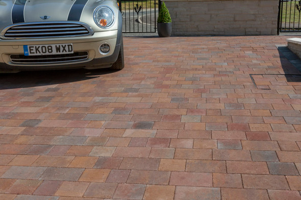 Marshalls Drivesett Savanna Block Paving - Traditional