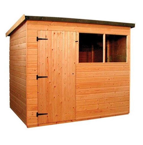 Suffolk Pent Shed - 6x4