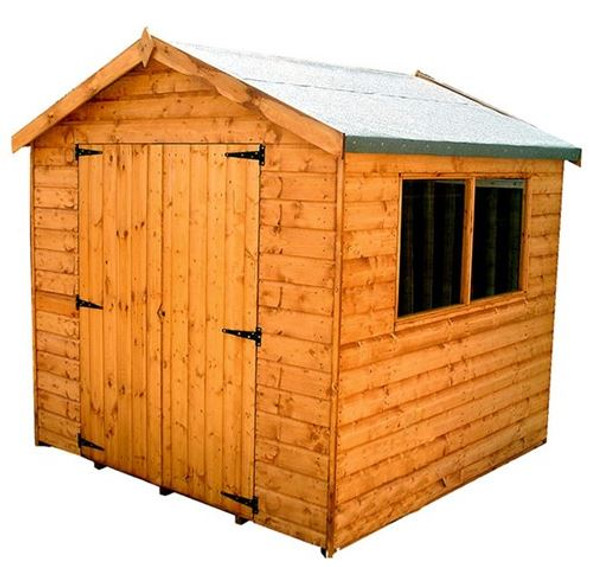 Surrey Double Door Apex Shed