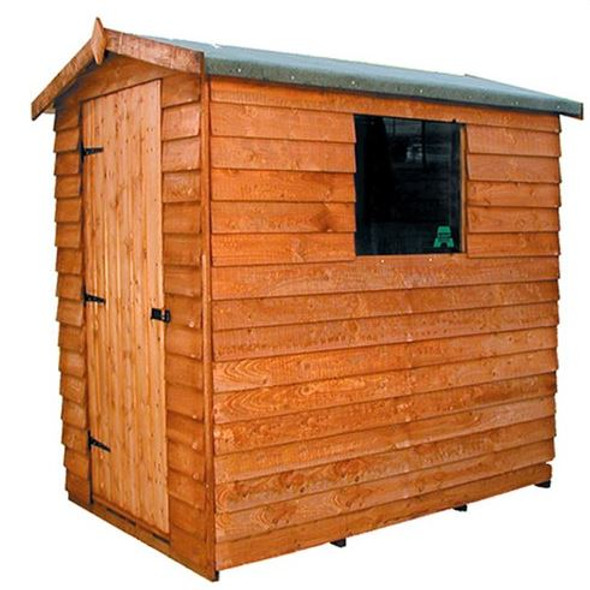 Cottage Overlap Apex Shed - 604