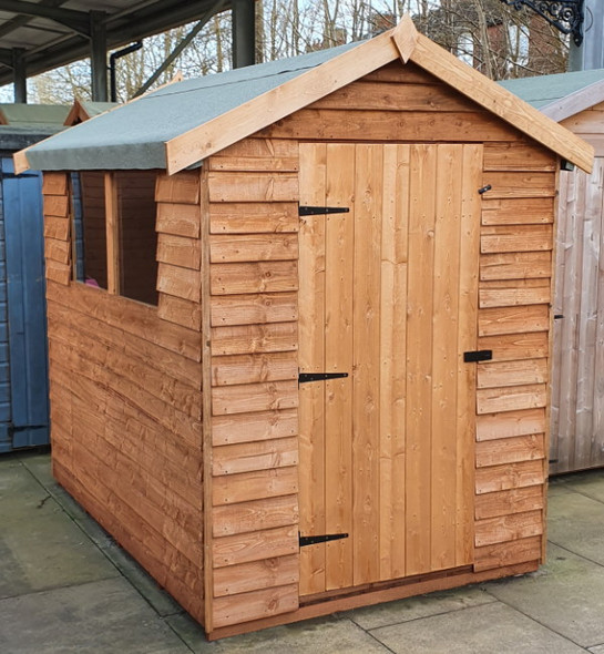 Cottage Overlap Apex Shed - 705