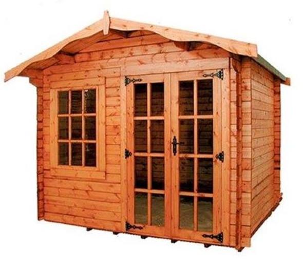 Charnwood Apex Log Cabin - Model A - 1008
