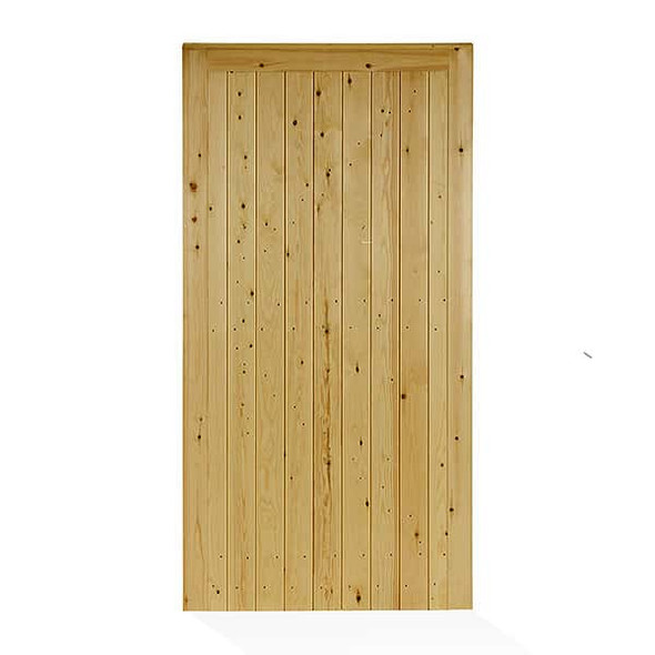 Tongue and Groove Town Gate (1750 x 900 x 45mm) - Pressure Treated Green Timber