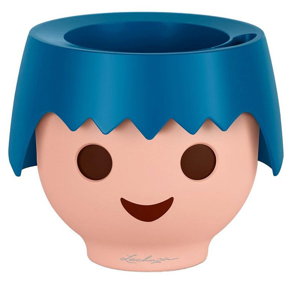 Self-Watering PLAYMOBIL Polyresin Kids Table Planter with Substrate