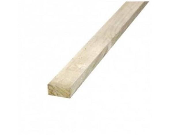 47 x 75 x 2100mm Sawn Treated C16 Green Timber