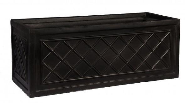 Fibrestone Lattice Window Box Planter