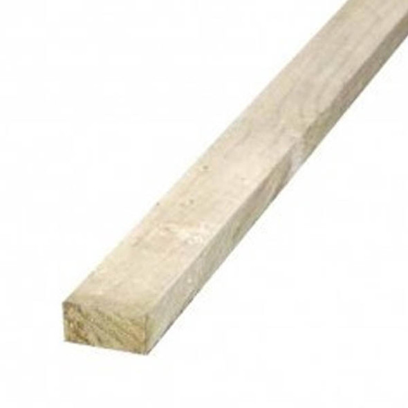 38 x 87 x 3600mm Sawn Treated C16 Green Timber