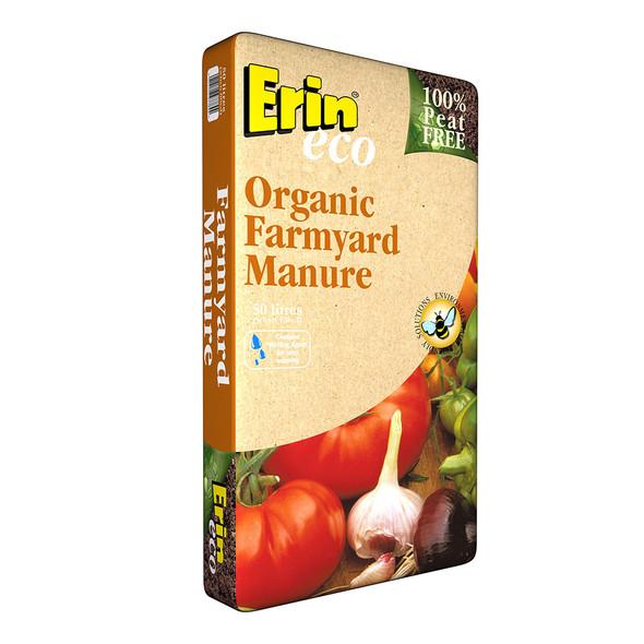 Erin Organic Farmyard Manure (50L)