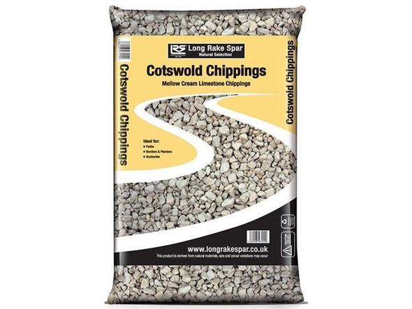 Long Rake Spar 10-20mm Cotswold Chippings Mini Bag