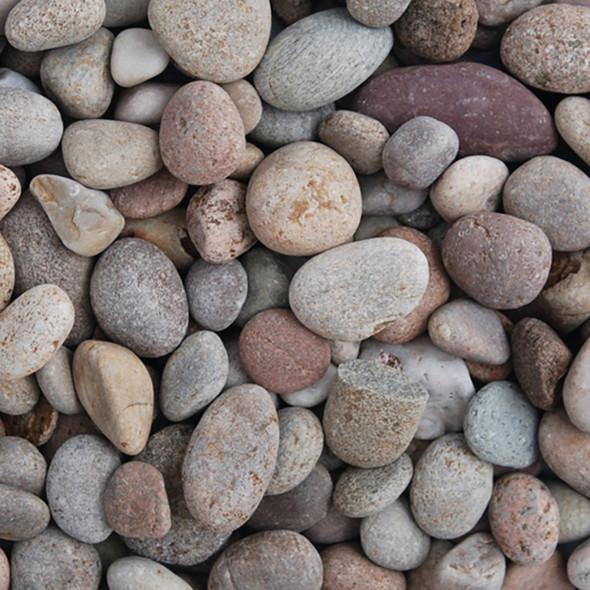 Long Rake Spar 20-30mm Scottish Pebbles Bulk Bag - Dry