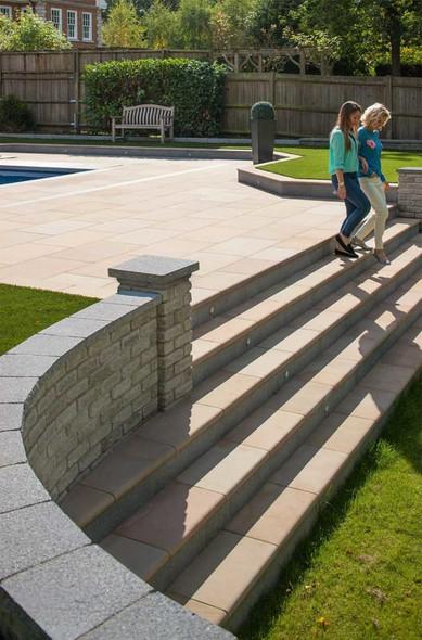 Marshalls Fairstone Sawn Versuro Step Kit (10 Steps) - Autumn Bronze