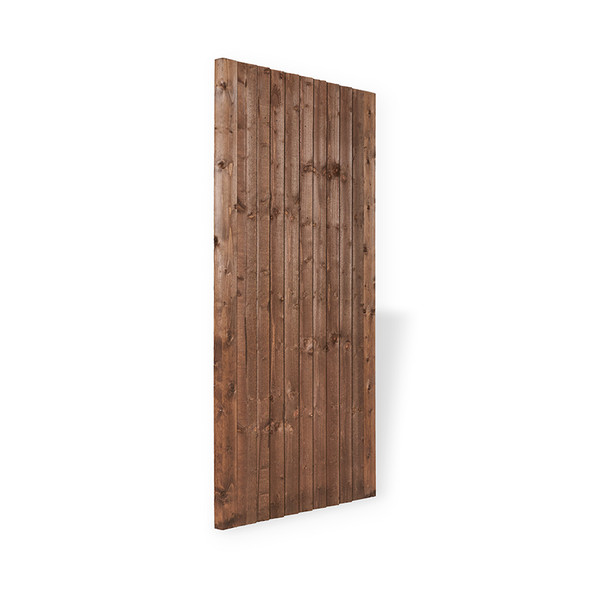 Closeboard Gate (1750 x 900mm) - Pressure Treated Brown Timber