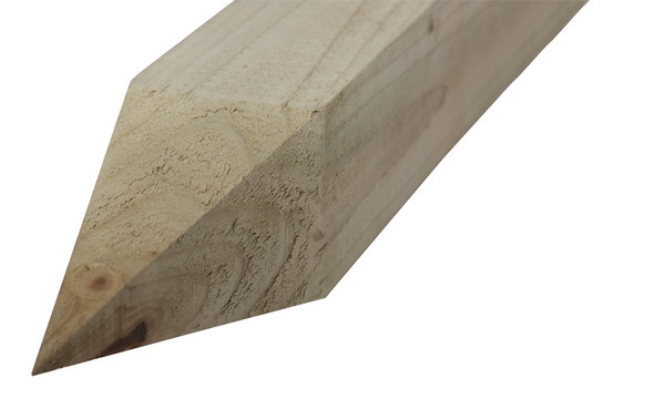 Pointed End Fence Post (1800 x 75 x 125mm) - Pressure Treated Green Timber