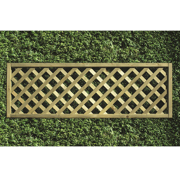Heavy Diamond Lattice Panel (1800 x 600mm) - Pressure Treated Green Timber