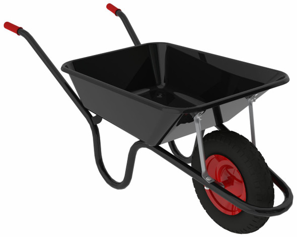 Camden Classic 85L Wheelbarrow (Black)