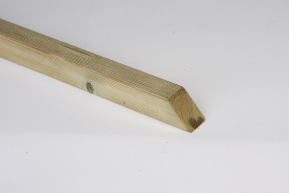 Centre Stump (600 x 50 x 50mm) - Green Timber