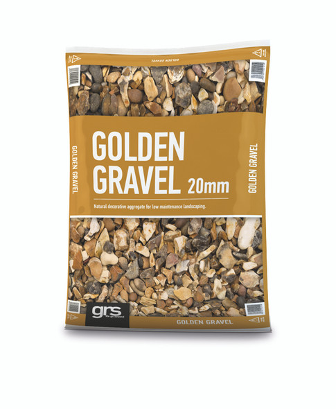 20mm Golden Gravel  Mini Bag (approx 25kg)