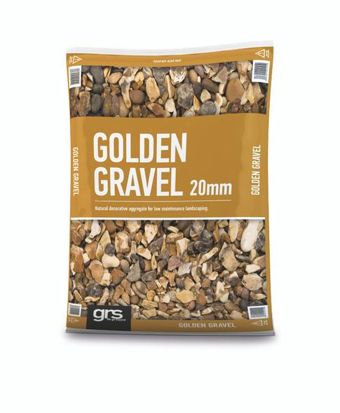 20mm Golden Gravel  Mini Bag (approx 25kg)