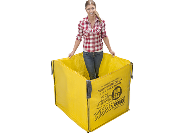 Hippo Bag - Small Sizee - 1 Cubic Yard Skip