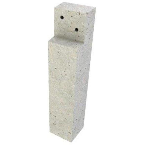 Concrete Deck Post (450 x 100 x 100mm)