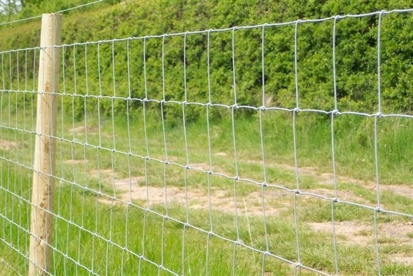 Livestock Fence (800mm) - C8/80/15 Galvanised 50 Metre Roll