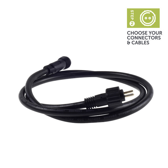 Ellumière Outdoor Lighting Extension Cable (1m)