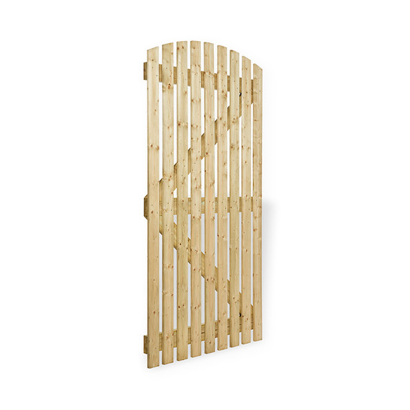 Curved Top Orchard Gate (1830 x 915mm) - Pressure Treated Green Timber