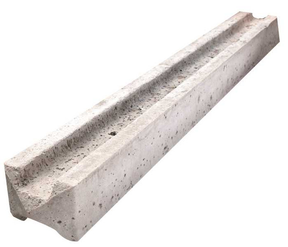 Concrete Slotted Intermediate Fence Post (3000 x 94 x 109mm)