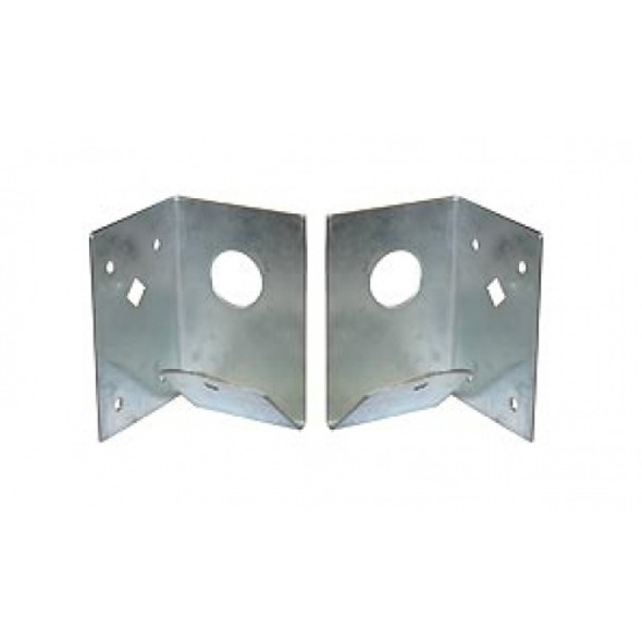 Arris Rail Support Bracket (Pair) - Galvanised Steel