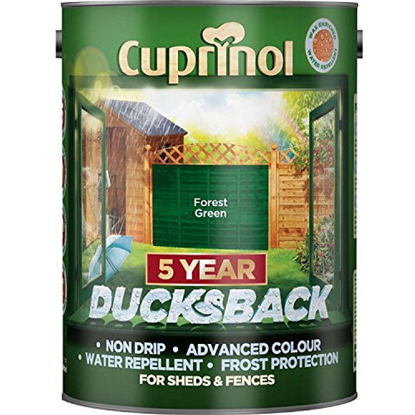 Cuprinol Ducksback 5 Ltr Forest Green