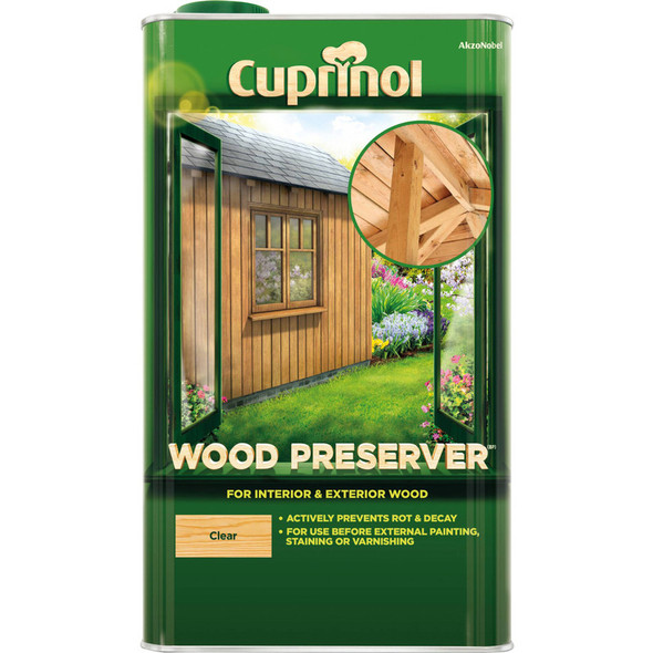 Cuprinol Wood Preserver Clear 5L