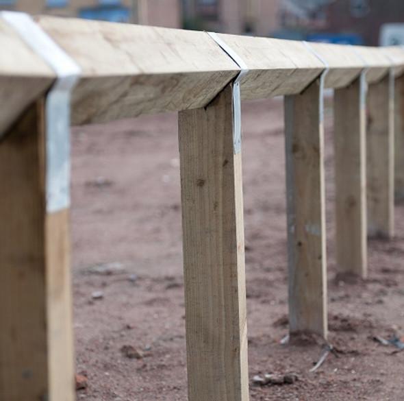 Knee Rail Post Strap (100 x 500mm)