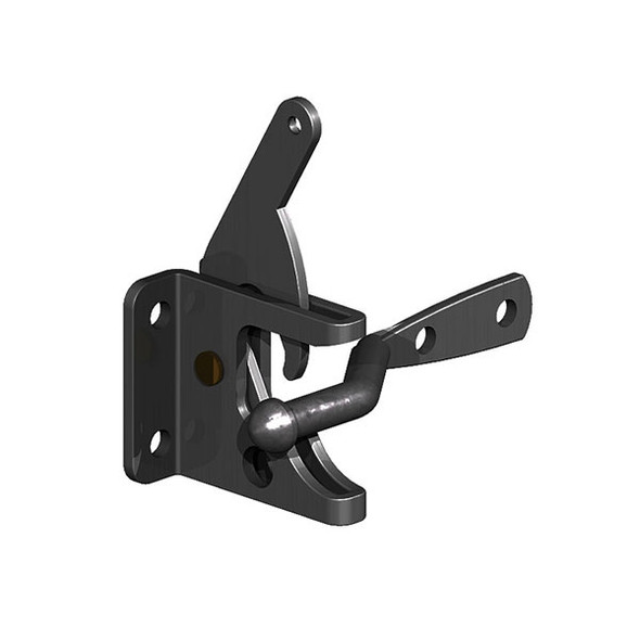 Medium Black Auto Gate Catch