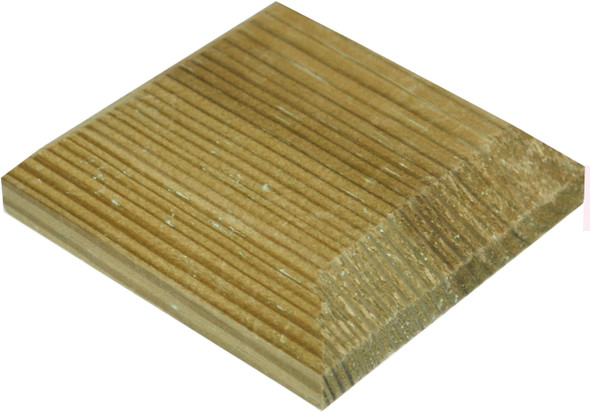 Fence Post Cap (125 x 125mm) - Pressure Treated Green Timber