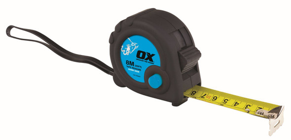 OX Tools - Trade 8m Tape Measure
