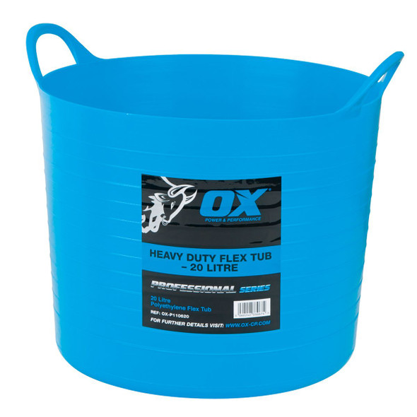 OX Tools - Pro Heavy Duty Flexi Tub (20L)