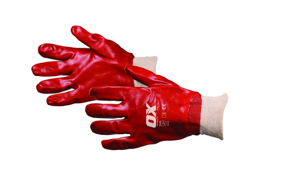 OX Tools - PVC Knit Wrist Gloves