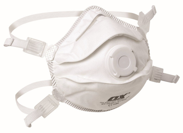 OX Tools - Moulded Cup Respirator FFP3V