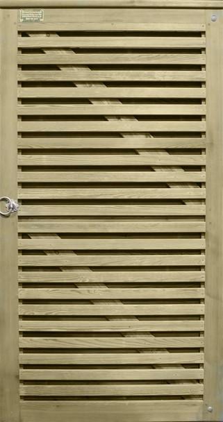 Venetian Hit & Miss Gate (1915 x 1000mm) - Pressure Treated Green Timber