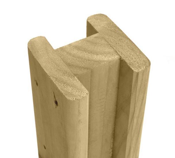 Intermediate Slotted Post (2400 x 100 x 100mm)