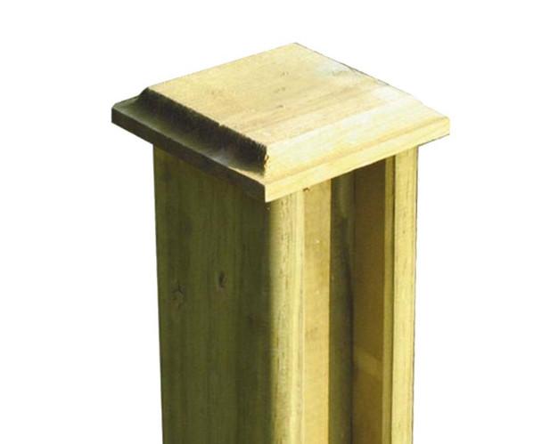 Chamfered Post Cap (125 x 125mm)