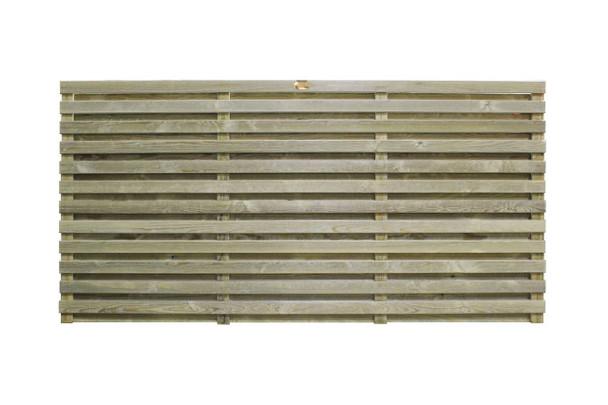Venetian Hit & Miss Fence Panel (1830 x 907mm)