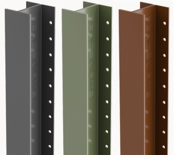 DuraPost Classic Intermediate Post (2400 x 54 x 48mm) - Powder Coated Finish