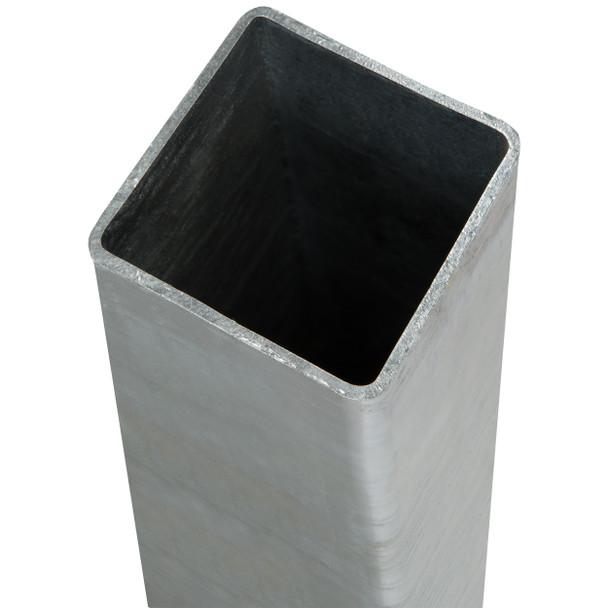 DuraPost Gate/Corner Post (2400 x 75 x 75mm) - Plain Steel Finish
