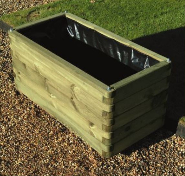 Elite Planter - Pressure Treated Green Timber