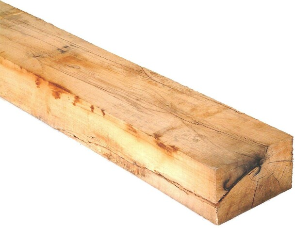 Oak Railway Sleeper (2400 x 200 x 100mm) - Natural Timber