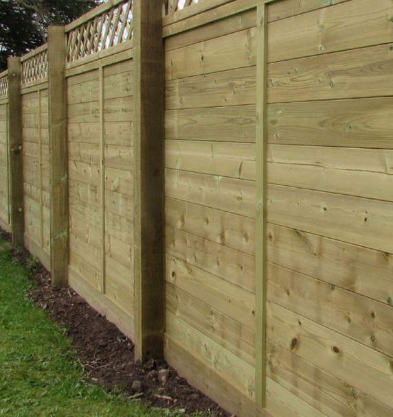 Richmond Acoustic Fence Panel (Trellis not included)