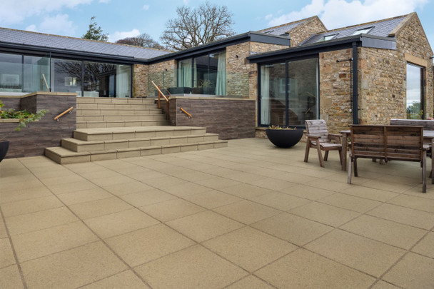 Marshalls Saxon Paving Slab - Natural